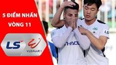 5 điểm nhấn vòng 11 V.League: Khâm phục tinh thần thi đấu của Văn Thanh