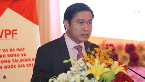 Chủ tịch VPF Trần Anh Tú: 'Chúng tôi luôn chủ động để mong V.League sớm trở lại'