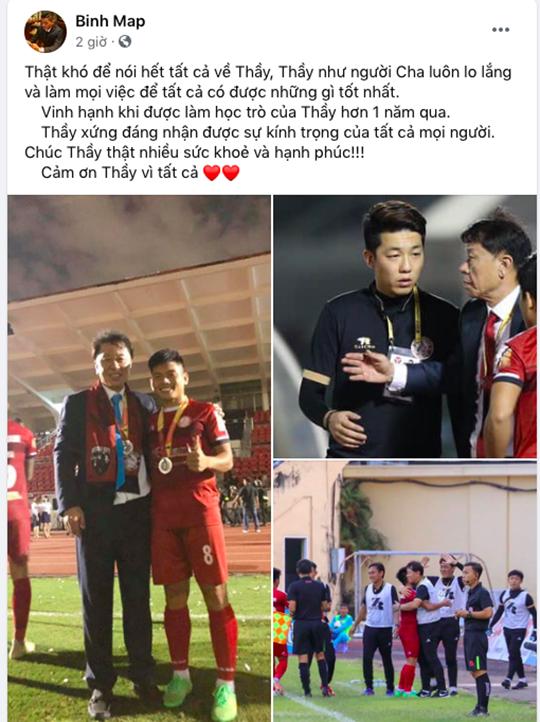 Tương tự là Thanh Bình, cầu thủ trưởng thành từ lò đào tạo TP.HCM