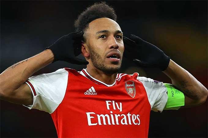 Aubameyang đã ghi 20 bàn ở giải Ngoại hạng Anh mùa này