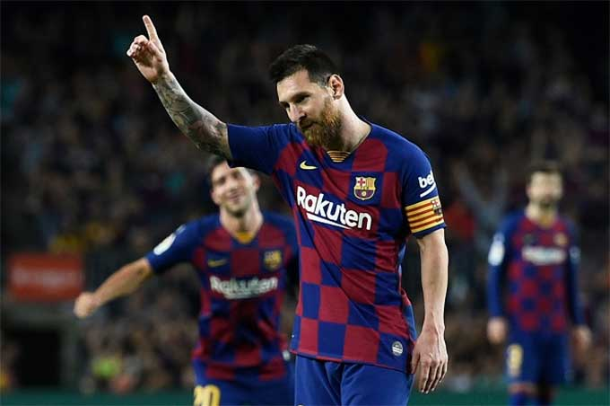 Messi đã giành 500 chiến thắng cùng Barca