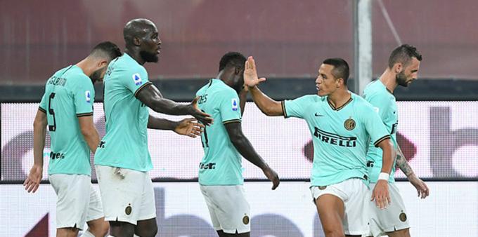 Lukaku và Sanchez cùng nhau lập công giúp Inter đại thắng