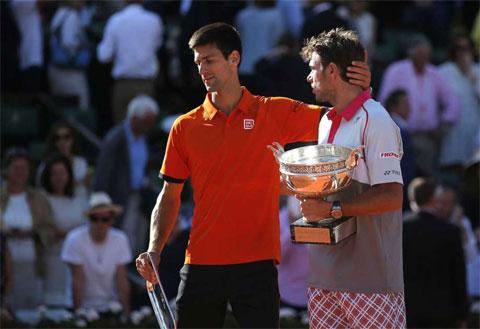 Thắng Djokovic ở chung kết, Wawrinka vô địch Roland Garros 2015