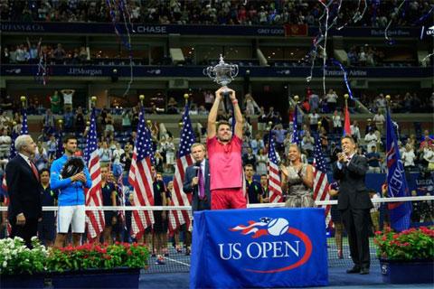 Wawrinka giành Grand Slam thứ ba sau khi vô địch US Open 2016