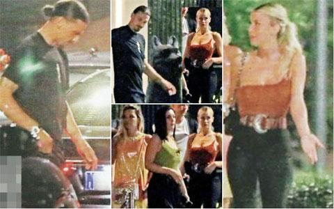 Ibrahimovic và Diletta Leotta bị bắt gặp hẹn hò