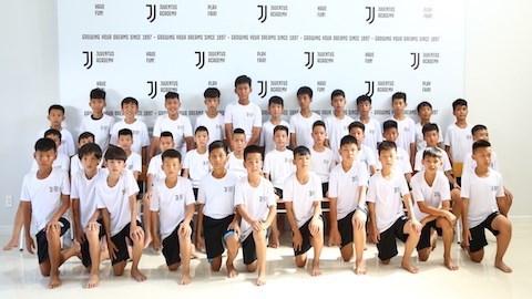 36 thí sinh trúng tuyển khoá 2 của Học viện Juventus Việt Nam