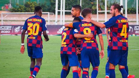 Barca B lỡ cơ hội thăng hạng Segunda sau thất bại ở trận play-off