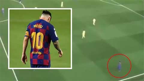 Nghiên cứu cho thấy Messi quá nguy hiểm khi... đi bộ trên sân