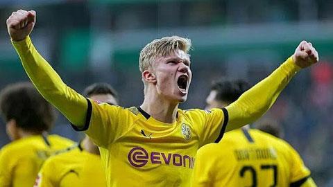 Hàng công của Dortmund sẽ ra sao khi chỉ có duy nhất một tiền đạo thực thụ là Haaland?