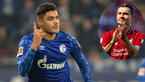 Lovren (ảnh nhỏ) vừa chia tay Anfield để gia nhập Zenit và Liverpool đã nhắm ngay Kabak của Schalke