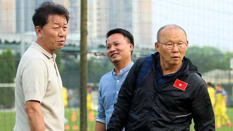 Con trai ông Park Hang Seo phủ nhận chuyện hỗn láo với thầy Chung