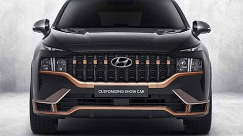 Hyundai Santa Fe 2021 có thêm bản hiệu suất cao khiến fan 'mê mẩn', giá chưa công bố