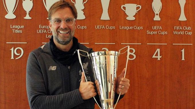 Klopp đã cùng Liverpool vô địch Ngoại hạng Anh