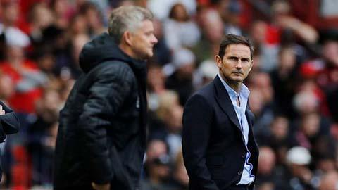Huyền thoại M.U xếp Solskjaer dưới tầm Lampard