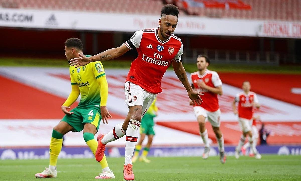 Với Arsenal, giữ được chân Aubameyang đã là thương vụ thành công