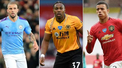 Top 10 cầu thủ tốc độ tốt nhất Premier League 2019/20