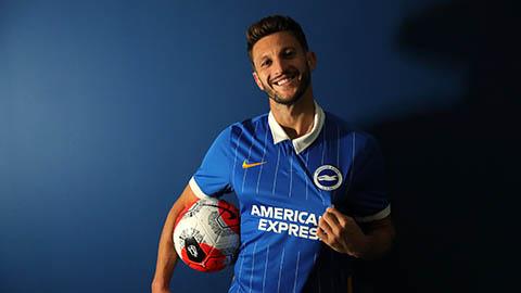 Lallana ra mắt tại Brighton với số áo 14