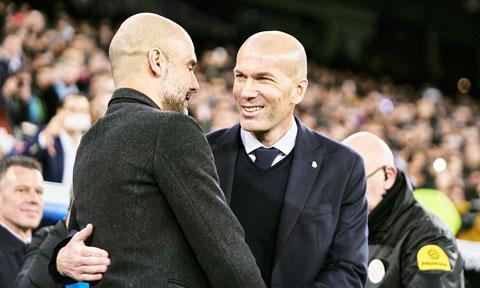 Xuất phát sau Pep Guardiola nhưng đến thời điểm này, Zinedine Zidane đã có một bộ sưu tập danh hiệu không hề thua kém