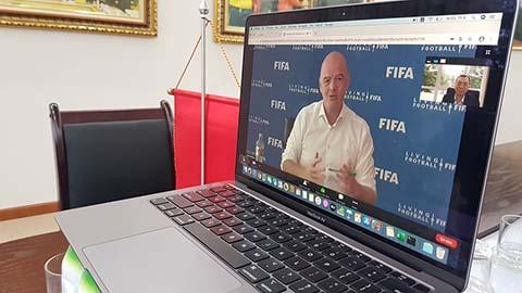 FIFAhỗ trợ VFF hàng chục tỷ đồng vượt đại dịch Covid-19