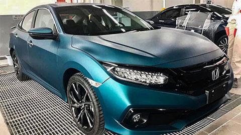 Honda Civic RS có thêm màu mới siêu đẹp tại VN, giá chất, đấu Mazda 3, Kia Cerato