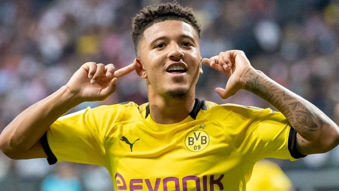 Jadon Sancho vừa trải qua một mùa giải tuyệt vời tại Dortmund
