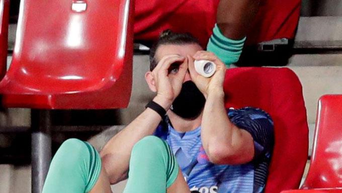 Bale đang hưởng thụ kiếp dự bị tại Real Madrid
