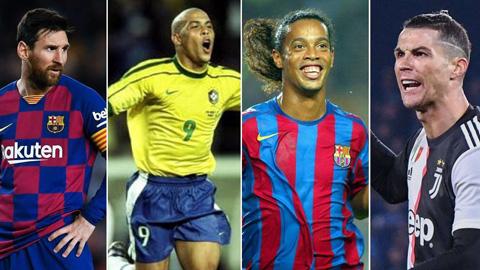 Messi, Ronaldo lọt vào đội hình huyền thoại từ đầu thế kỷ 21