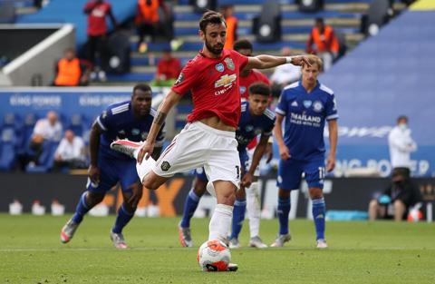 M.U đã được hưởng 14 quả phạt đền tại Premier League mùa này và Fernandes có 4 lần thực hiện thành công