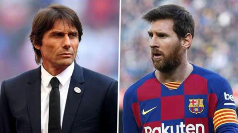 Conte lên tiếng về việc Inter rục rịch chiêu mộ Messi