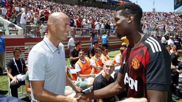 Zidane thích Pogba nhưng sẽ rất khó để sở hữu anh