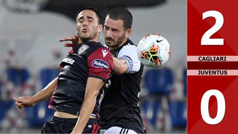 Cagliari 2-0 Juventus (Vòng 37 Serie A 2019/20)
