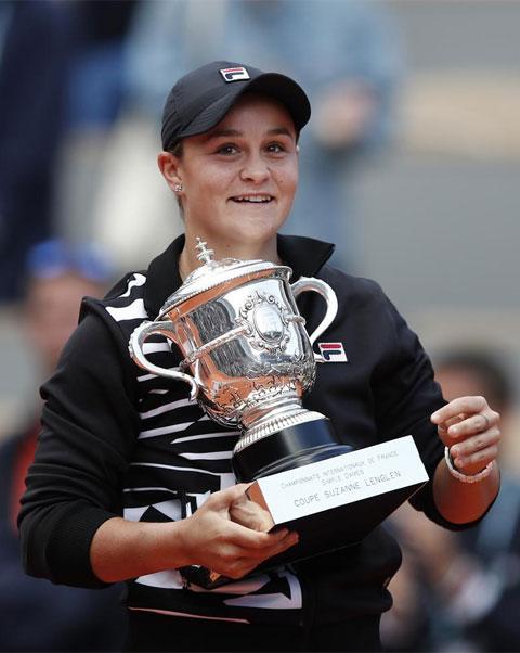 Roland Garros 2019 ghi dấu mốc Grand Slam đầu tiên của tay vợt Australia
