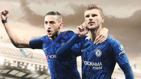 Hàng công tuyệt vời của Chelsea sắp thành hình
