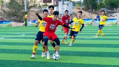 Hai trận chung kết giải bóng đá nam tranh cúp Huda: Sôi động, kịch tính và đầy cảm xúc