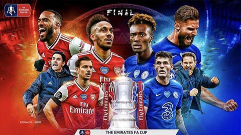 5 lý do để tin Arsenal sẽ thắng Chelsea ở chung kết cúp FA