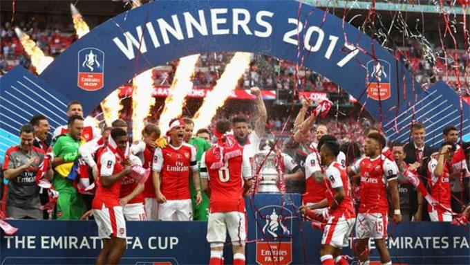 Arsenal đang là đội giành được nhiều cúp FA nhất