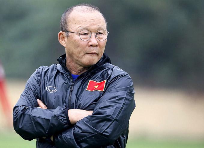 HLV Park Hang Seo trút được 1 áp lực trong năm 2020