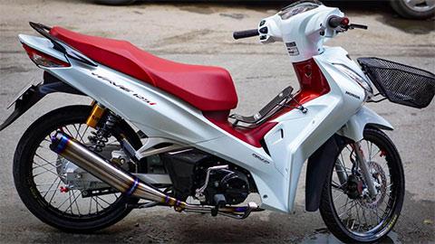 Honda Wave 125 đẹp mê ly, giá bán ngang ngửa SH Mode 2020, chất ngất với nhiều đồ chơi từ Nhật