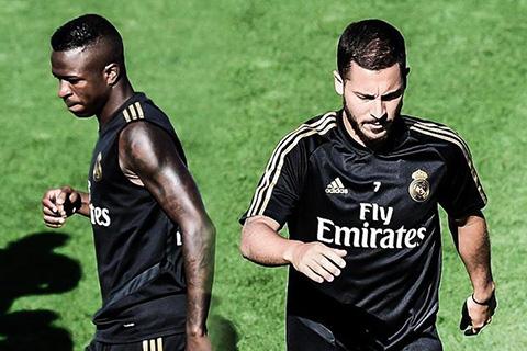 Hazard và Vinicius, ai hơn ai trong mắt Zidane?