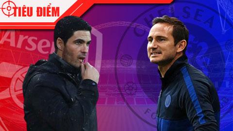 Arteta vs Lampard, quá nhiều IQ cho một cuộc đấu trí
