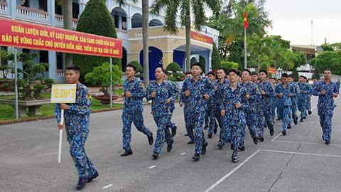 Gần 450 cán bộ, chiến sĩ Lữ đoàn 147 tham gia chạy CISM 2020