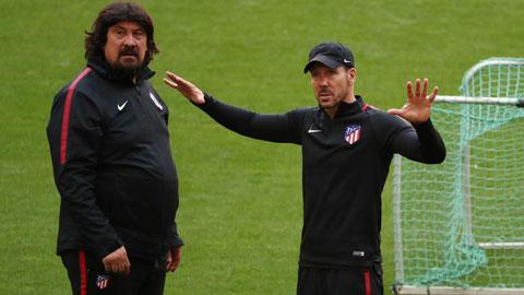 Thành công của HLV Simeone tại Atletico luôn có dấu ấn German Burgos