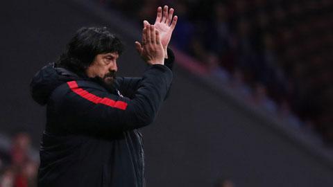 Trợ lý German Burgos chia tay Atletico Madrid: Wanda Metropolitano vắng bóng 'Vua khỉ đột'