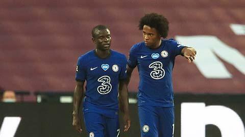 Tin giờ chót 31/7: Kante và Willian đủ sức thi đấu chung kết FA Cup