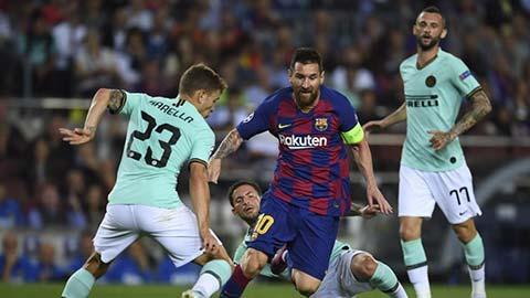 Inter dùng 260 triệu euro mua trung thành của Messi với Barca