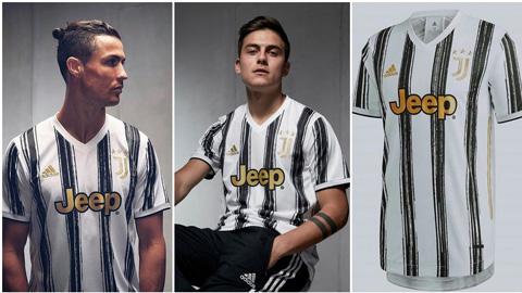 Áo đấu chính của Juventus quay lại với thiết kế sọc trắng đen kinh điển