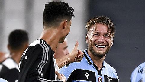 Ronaldo không ra sân vòng cuối, Immobile giành Vua phá lưới Serie A và Chiếc giày vàng châu Âu