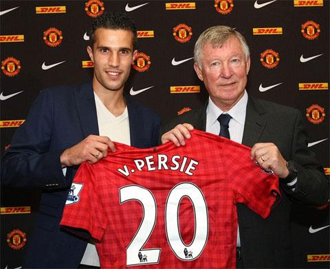 Van Persie và mùa 2012/13 để đời cùng M.U