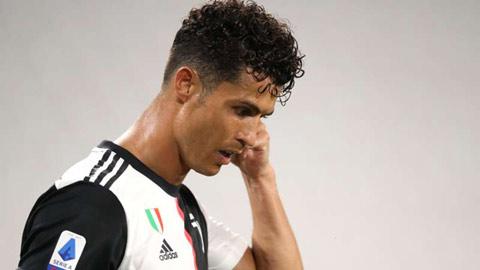Ronaldo không còn cơ hội cạnh tranh Chiếc giầy Vàng châu Âu?