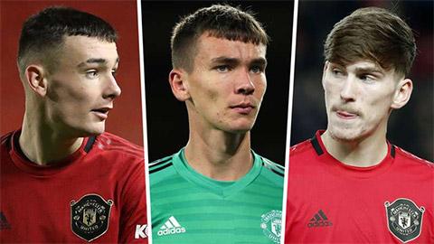M.U sắp cho mượn 4 cầu thủ trẻ